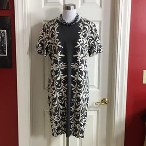 Tory Burch Shift Dress Tunic XL Short sleeve